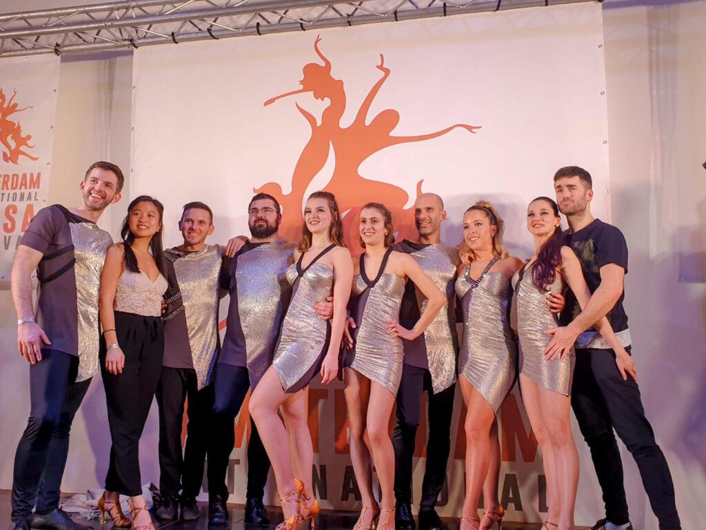 Dansen op het Amsterdam International Salsa Festival